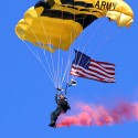 Golden Knights Parachute Into Funeral of Army Skydiver & Comrade