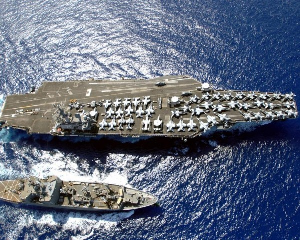 "USS Ronald Reagan (CVN-76) ""Peace Through Strength"""