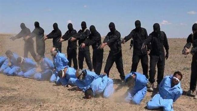 ISIS butchers executing Iraqi dissidents - those that the US promised to support  . . .