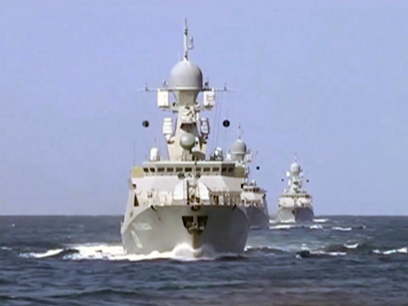 Russian Fleet in Mediterranean