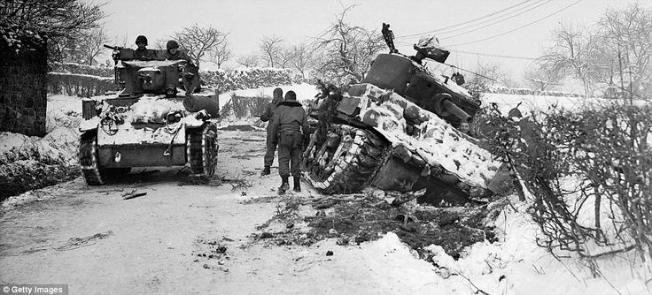 Bad Weather - Battle of the Bulge - Dec 1945