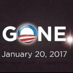 Obama Countdown Clock – GONE!   Jan. 20, 2017
